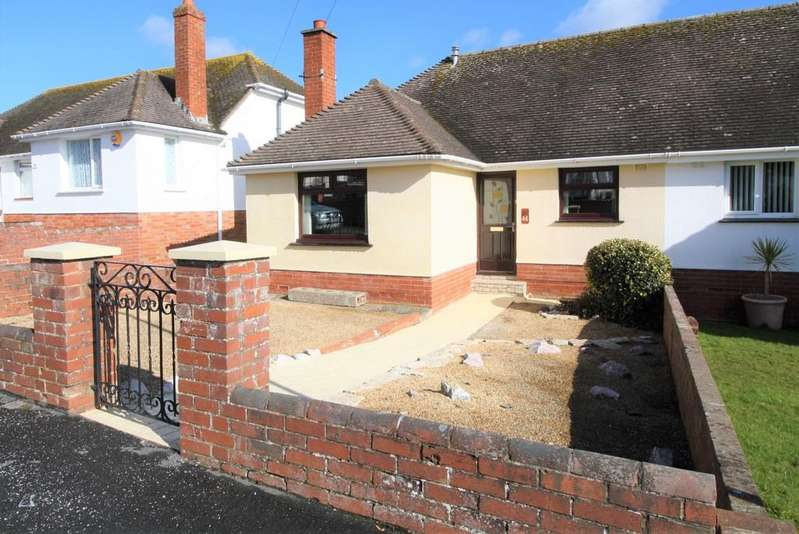 2 Bedrooms Semi Detached Bungalow for sale in Brookside Crescent, Beacon Heath