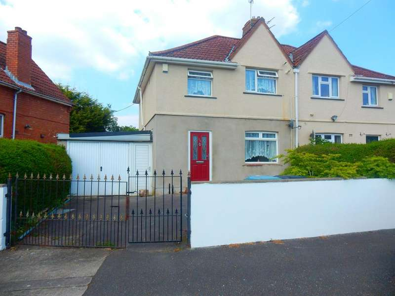 3 Bedrooms Semi Detached House for sale in Wallingford Road , Knowle, Bristol, BS4 1SJ
