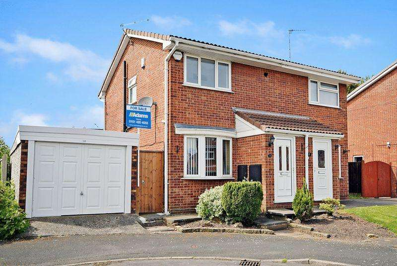 2 Bedrooms Semi Detached House for sale in Burnham Close, Widnes