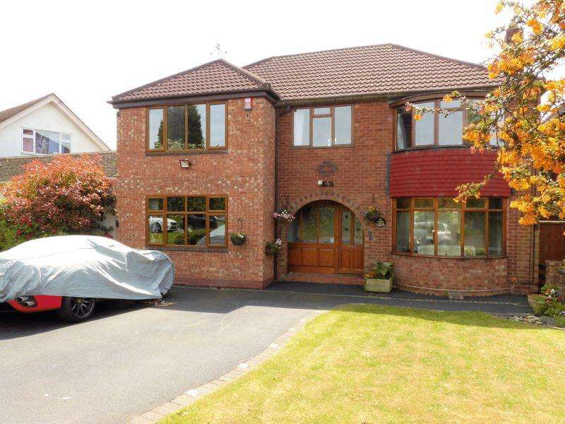 5 Bedrooms Detached House for sale in Park Hall Road, Walsall