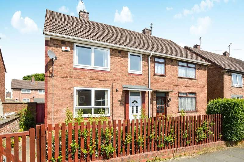 3 Bedrooms Semi Detached House for sale in Heays Close, Leicester, LE3