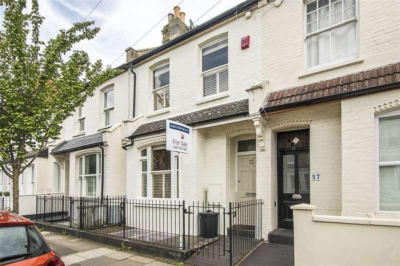 5 Bedrooms Terraced House for sale in Kinnoul Road, London, W6
