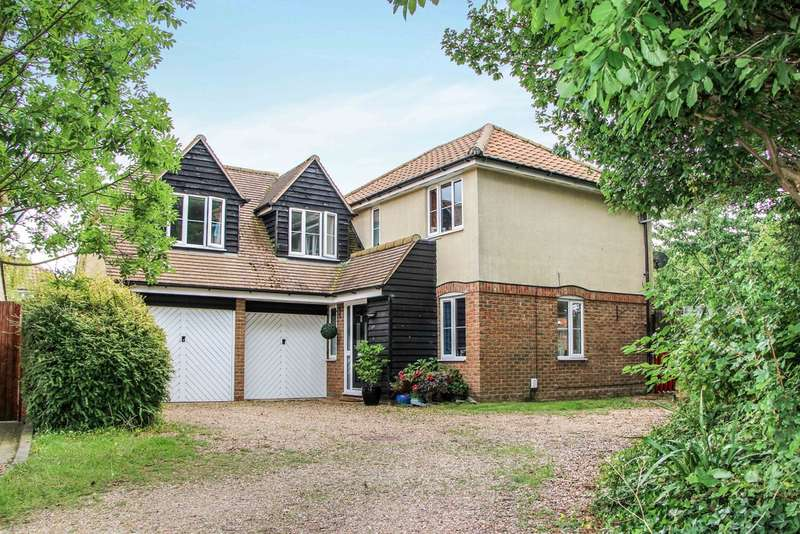 4 Bedrooms Detached House for sale in Burghley Rise, Burwell