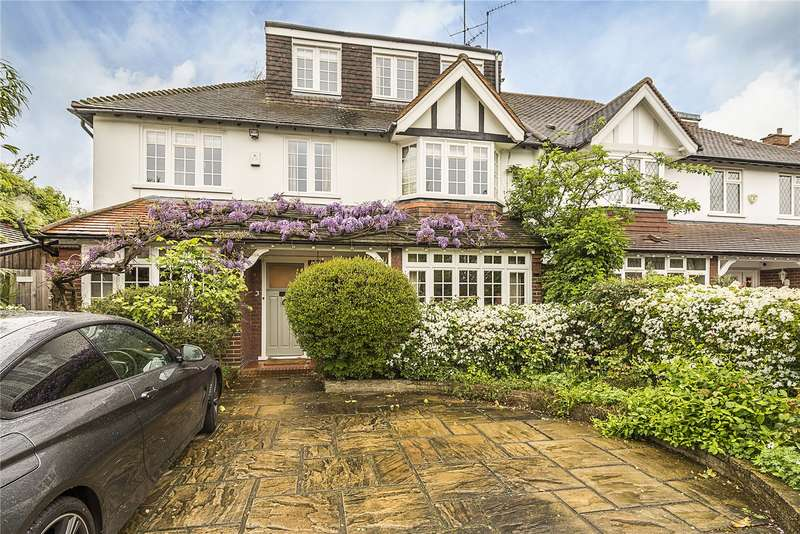 5 Bedrooms Semi Detached House for sale in Devonshire Gardens, London, W4