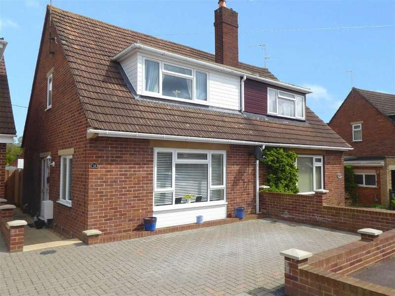 3 Bedrooms Semi Detached House for sale in Hicks Avenue, Cam, Dursley, GL11