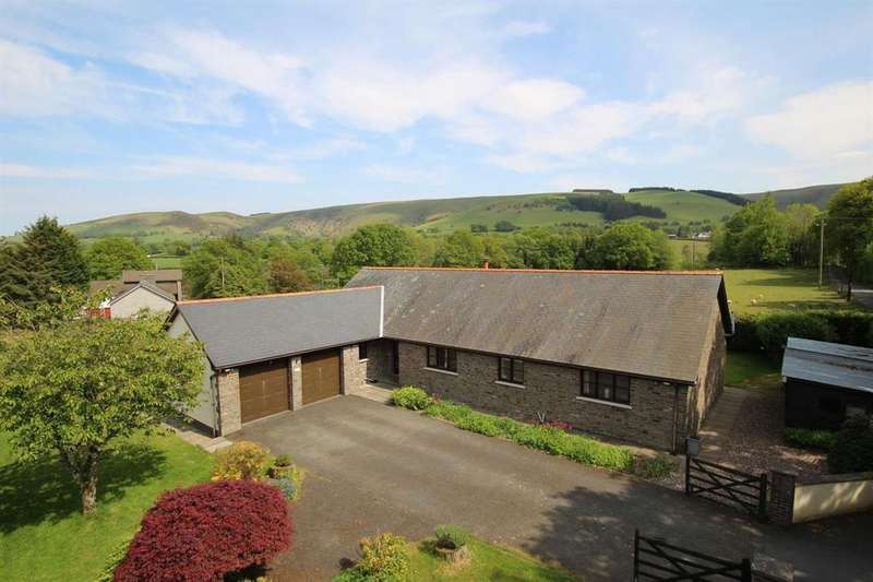 4 Bedrooms Detached Bungalow for sale in Llangammarch Wells, Powys, LD4