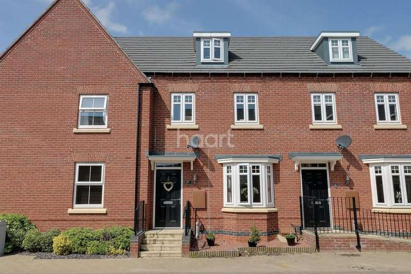 3 Bedrooms Terraced House for sale in Tamworth Close, Grantham