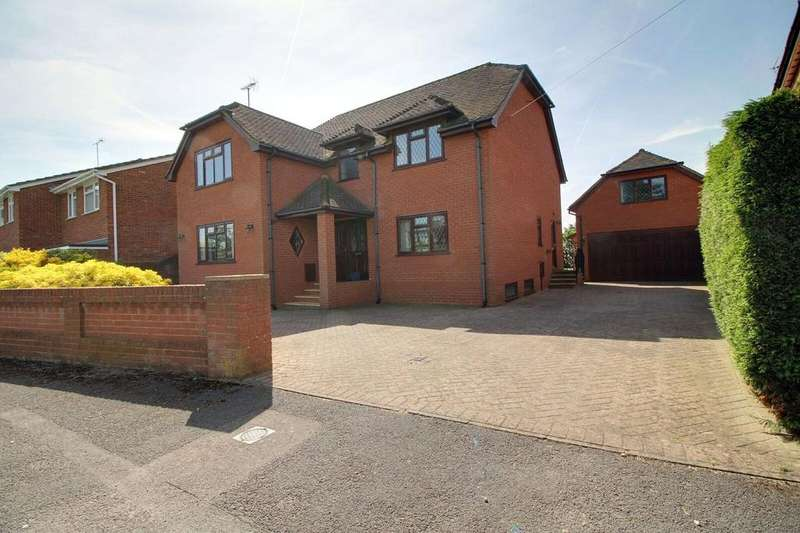 4 Bedrooms Detached House for sale in Silver Fox Crescent, Woodley, Reading, Berkshire, RG5