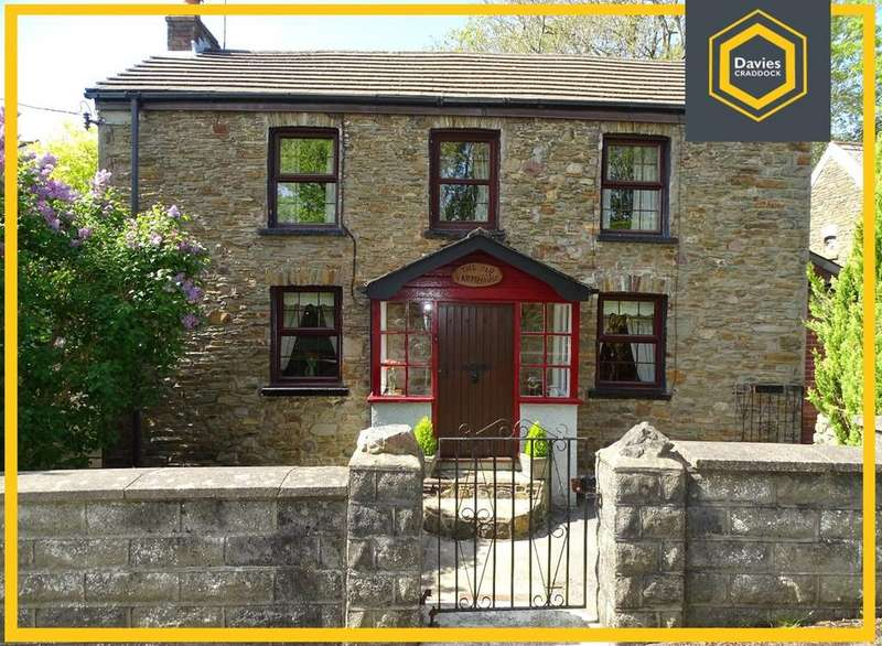 3 Bedrooms Detached House for sale in Old Farmhouse, Pentrepoeth Road, Llanelli, SA15