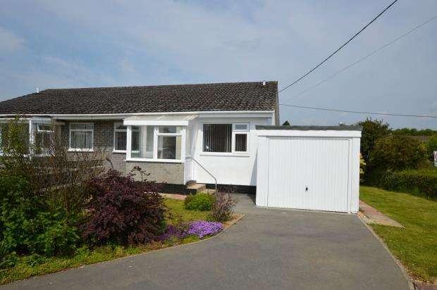 2 Bedrooms Semi Detached Bungalow for sale in Higher Meadow, Dobwalls, Liskeard, Cornwall