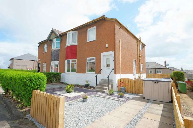 3 Bedrooms Ground Flat for sale in Thurston Road, Cardonald, Glasgow, G52 2JQ