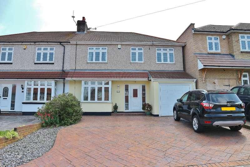 4 Bedrooms Semi Detached House for sale in Manor Way, Barnehurst, Kent, DA7 6JN
