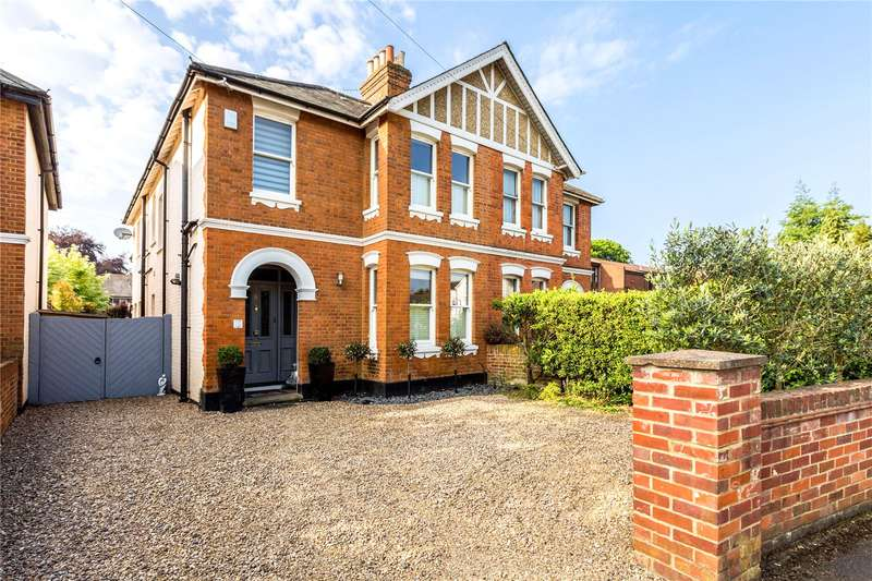 4 Bedrooms Semi Detached House for sale in St Lukes Road, Maidenhead, Berkshire, SL6