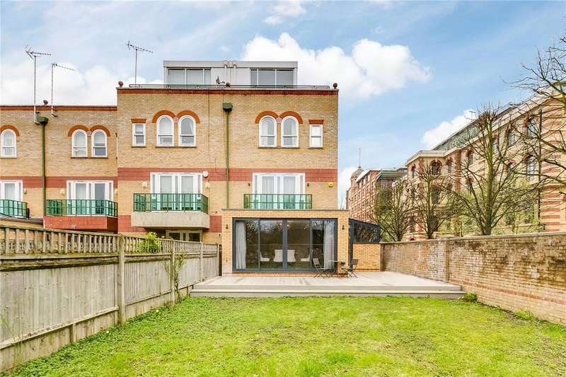 5 Bedrooms End Of Terrace House for sale in St. Edmunds Square, Harrods Village, Barnes, London