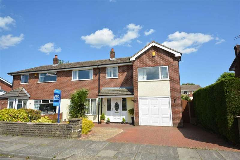 5 Bedrooms Semi Detached House for sale in Westfield Grove, Whitley, Wigan, WN1