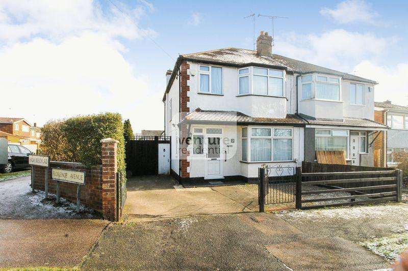 3 Bedrooms Semi Detached House for sale in Florence Avenue, Luton