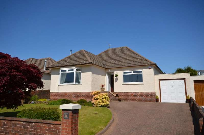 3 Bedrooms Detached Bungalow for sale in 26 Taybank Drive, Alloway, KA7 4RL