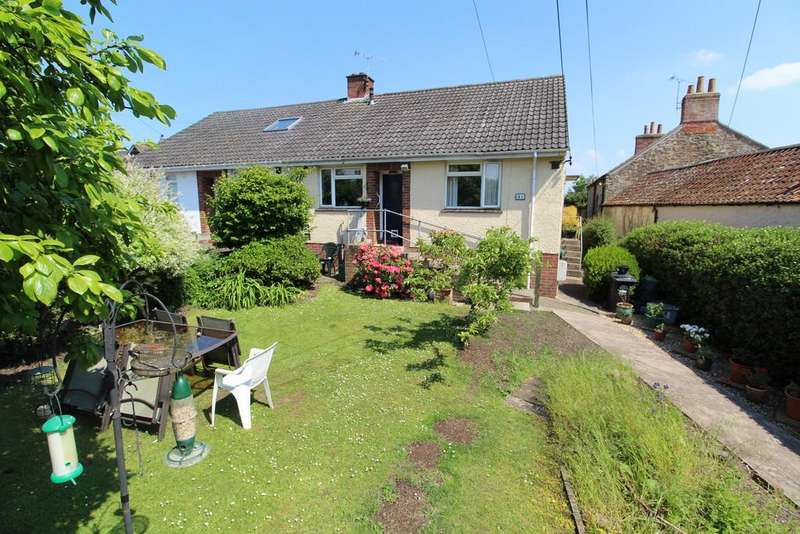 2 Bedrooms Semi Detached Bungalow for sale in Whitesfield Road, Nailsea