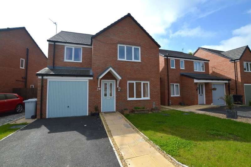 4 Bedrooms Detached House for sale in Jubilee Pastures, Middlewich, CW10