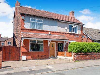 2 Bedrooms Semi Detached House for sale in Normanby Road, Worsley, Manchester, Greater Manchester