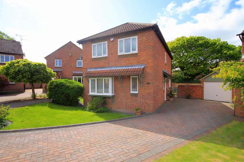 4 Bedrooms Detached House for sale in Phoenix Close, Langley Park, Durham