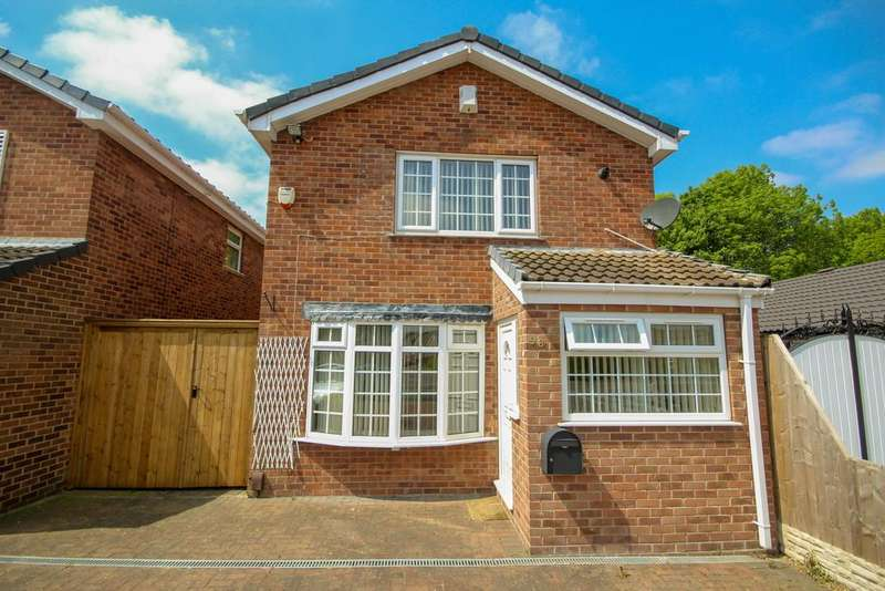 3 Bedrooms Detached House for rent in Sinfin Avenue, Shelton Lock