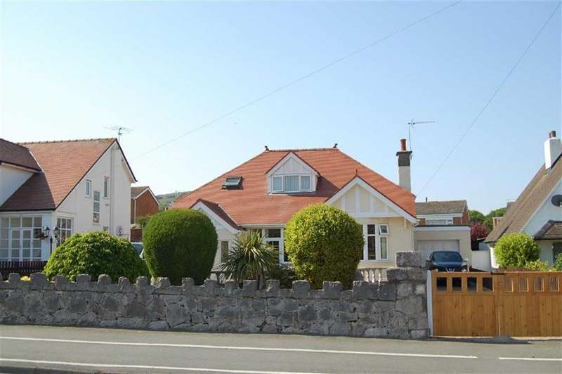 3 Bedrooms Detached Bungalow for sale in Glan Y Mor Road, Penrhyn Bay, Llandudno