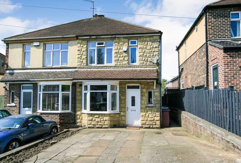 3 Bedrooms Semi Detached House for sale in Marsh Avenue, Dronfield, Derbyshire, S18 2HA