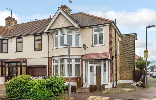 3 Bedrooms End Of Terrace House for sale in Shirley Gardens, Barking, Essex