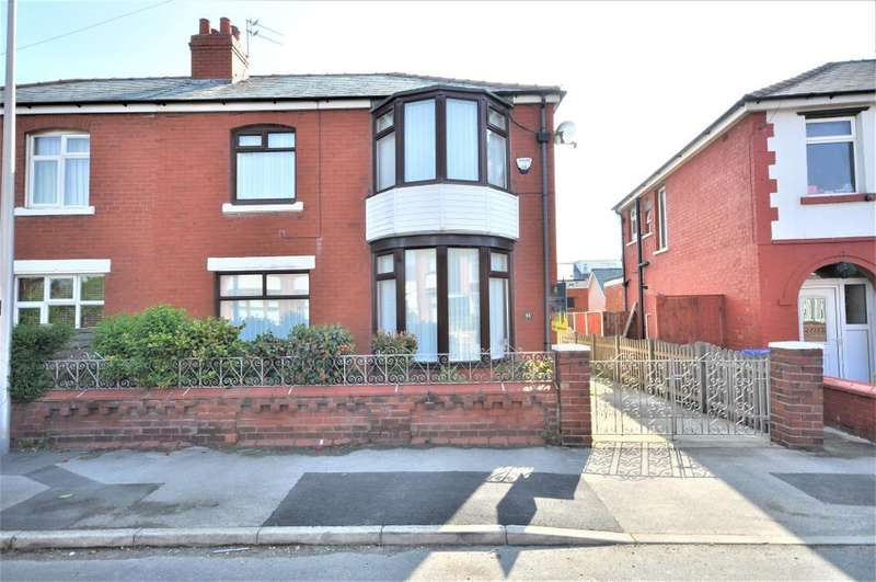 3 Bedrooms Semi Detached House for sale in Westfield Road, Blackpool, Lancashire, FY1 6NU