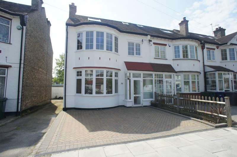 4 Bedrooms End Of Terrace House for sale in Loring Road, Whetstone, London N20