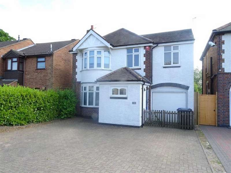 4 Bedrooms Detached House for sale in Coventry Road, Hinckley
