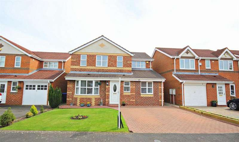 4 Bedrooms Detached House for sale in Brantwood, Chester Le Street
