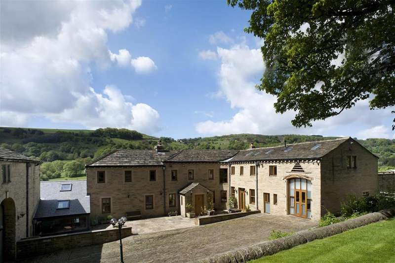 5 Bedrooms Detached House for sale in Springfield Farm, Blake Hill, Shibden, HX3 7UL