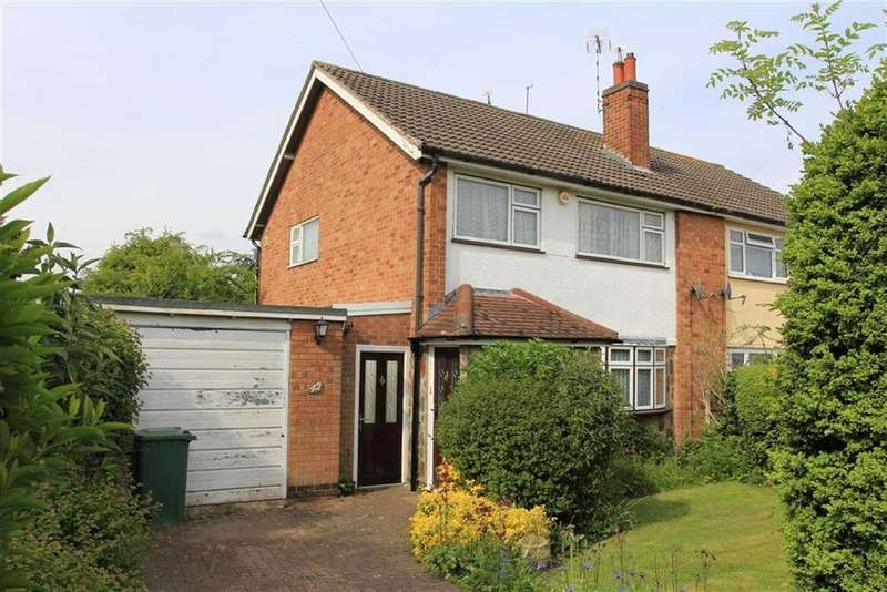 3 Bedrooms Semi Detached House for sale in Dorset Avenue, Wigston, Leicestershire