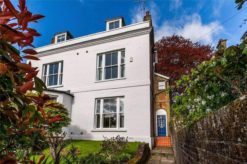 4 Bedrooms Semi Detached House for sale in Edgar Road, Winchester, Hampshire, SO23