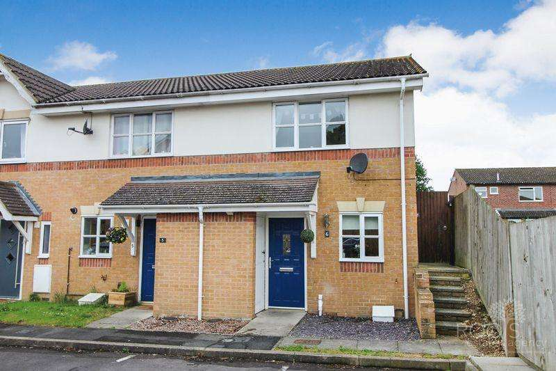 2 Bedrooms End Of Terrace House for sale in Richmond Avenue, Thatcham