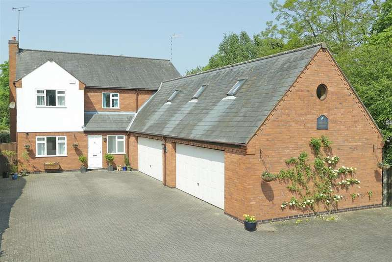 4 Bedrooms Detached House for sale in Norfolk House, Main Street, Great Glen