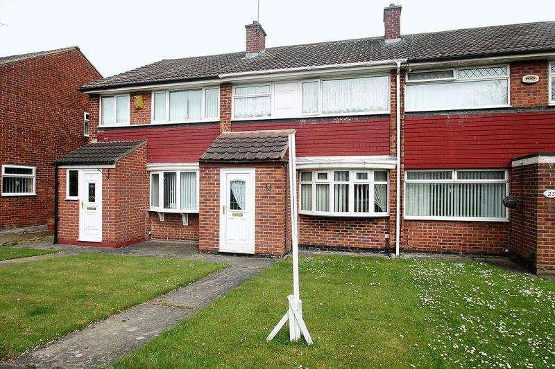 3 Bedrooms Terraced House for sale in Oaksham Drive, Billingham