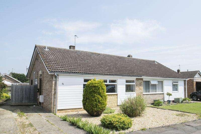 2 Bedrooms Semi Detached Bungalow for sale in Pollards Close, Wilstead