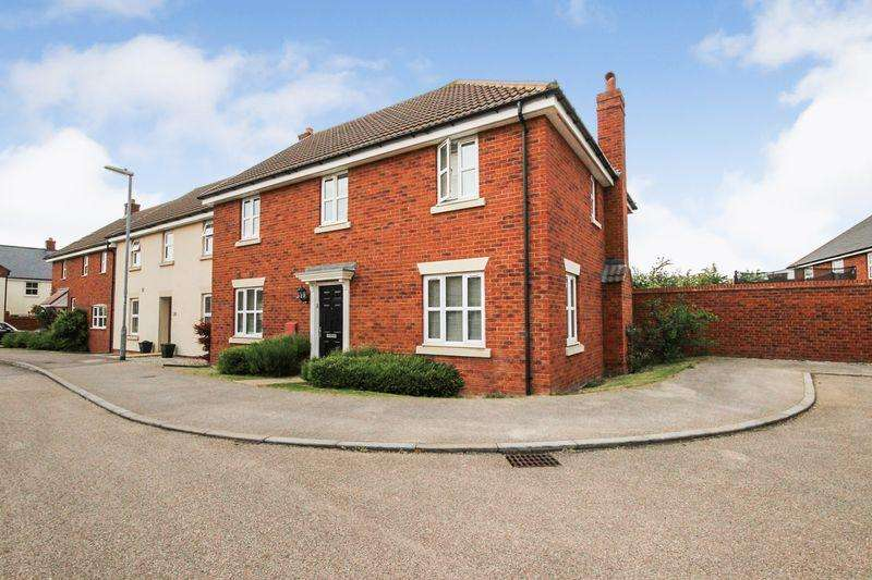 4 Bedrooms End Of Terrace House for sale in Ridge View, Houghton Conquest