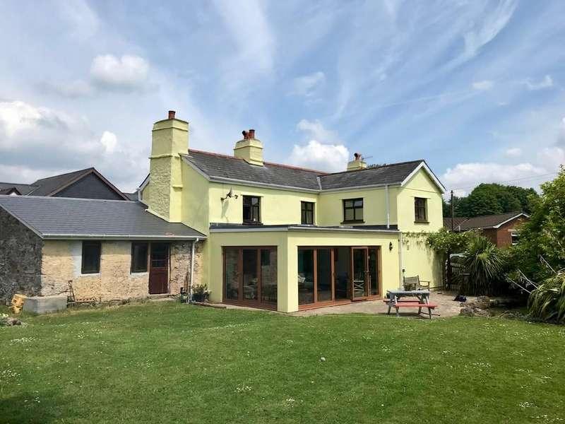 4 Bedrooms Detached House for sale in Ashburton, Devon