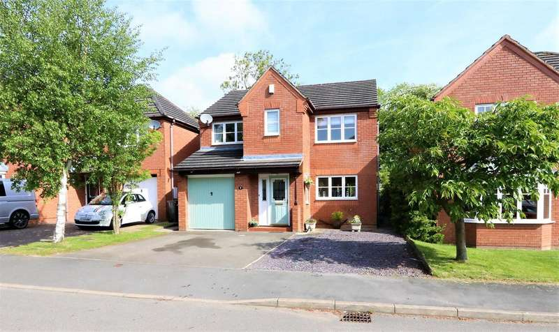 4 Bedrooms Property for sale in The Croft, Ashby-De-La-Zouch, LE65 1FP