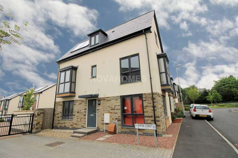 3 Bedrooms End Of Terrace House for sale in Piper Street, Derriford, Plymouth, PL6 8DJ