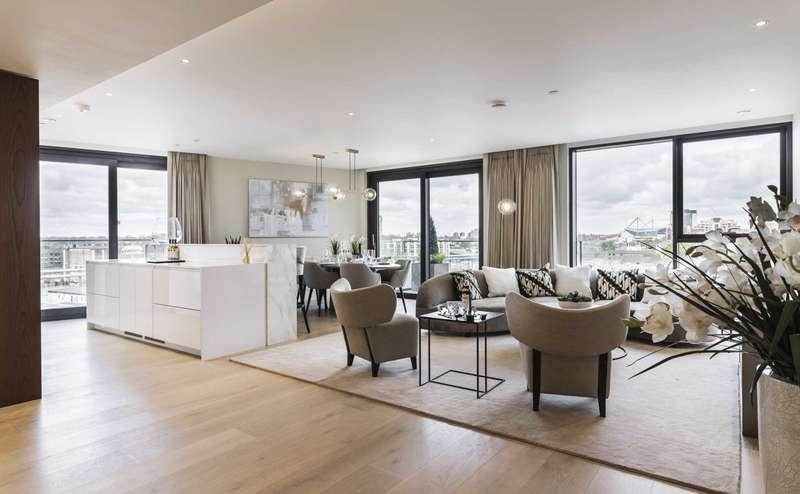 3 Bedrooms Flat for sale in Harbour Avenue, Chelsea, SW10