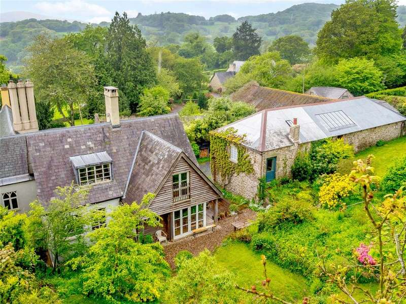 5 Bedrooms Semi Detached House for sale in Mapstone Hill, Lustleigh, Newton Abbot, Devon