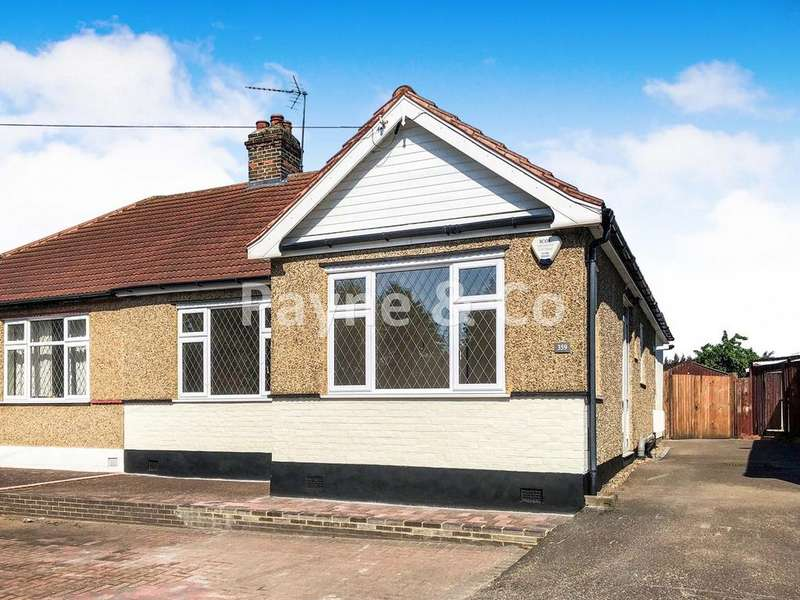 3 Bedrooms Semi Detached Bungalow for sale in Aldborough Road South, SEVEN KINGS, IG3