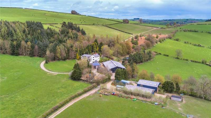 4 Bedrooms Farm Commercial for sale in Bleddfa, Knighton, Powys