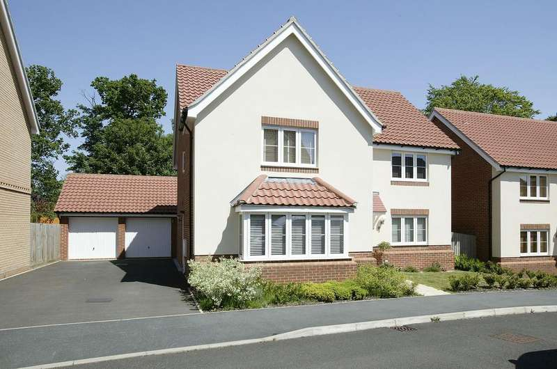 5 Bedrooms Detached House for sale in Freesia Way, Cringleford