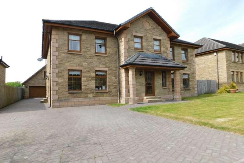 5 Bedrooms Detached House for sale in Albert Park, Braidwood, Carluke, ML8